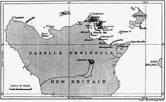 Gazelle Peninsula - Image: Gazelle Peninsula