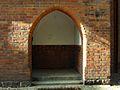 Gdańsk kościół Najświętszego Serca Jezusowego (wejście boczne wschodnie).JPG