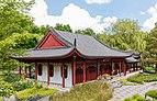 Gebouw in de Chinese tuin Het Verborgen Rijk van Ming in de Hortus Haren.jpg