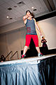 Geek Fashion Show 2013 - Mia Ballistic - Psykitten Pow (8845432414).jpg
