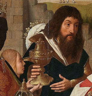Caspar (magus) according to Christian tradition, a king of India and one of the three Magi (younger than Melchior, older than Balthazar) that visited Jesus, who gave the gift of frankincense