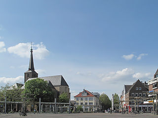 Geldern Place in North Rhine-Westphalia, Germany