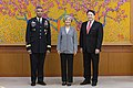 Gen. Brooks, Chargé d'Affaires Knapper, Minister Kang Meet for First Time 170621-A-HU462-033.jpg