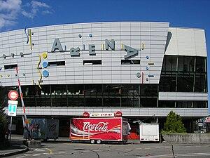 SEG Geneva Arena - Exterior of Geneva Arena