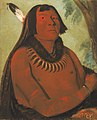 George Catlin - Mah-táhp-ta-a, Rushes through the Middle, a Brave - 1985.66.130 - Smithsonian American Art Museum.jpg