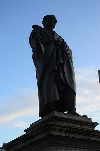 George Kinloch (politician) - George Kinloch MP by Sir John Steell, Albert Square, Dundee
