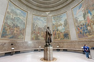 Ezra Winter - Image: George Rogers Clark Memorial right murals