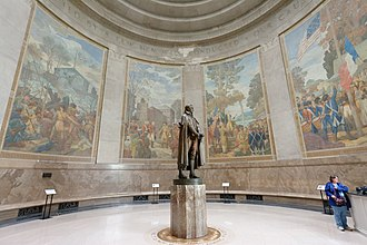 Ezra Winter - Image: George Rogers Clark Memorial right murals