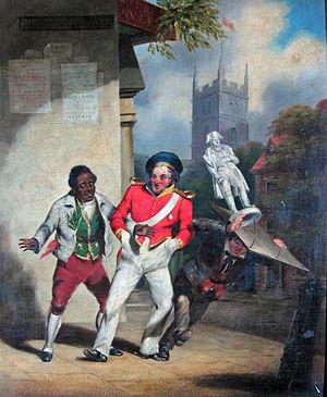George Wallis - G Wallis. Fall of Napoleon. 1836