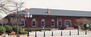 Georgia Railroad Freight Depot - GRRFD today