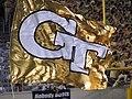 Georgia Tech football touchdown flag.jpg