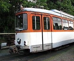 German tram at Whitwell & Reepham railway station (geograph 3154365).jpg