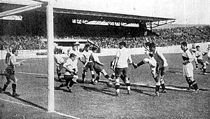 History of the Germany national football team - Germany playing Uruguay at the 1928 Summer Olympics.