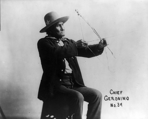 Geronimo with bow cph.3a47084