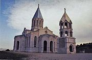 Ghazanchetsots Cathedral in Shusha