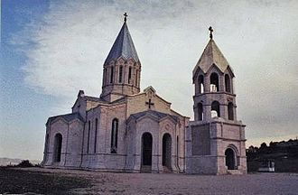 Shushi Province - Ghazanchetsots Cathedral.