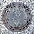 Gifhorn, Schachtdeckel 800 Jahre, 1.jpeg