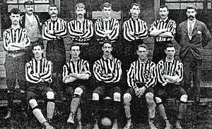 History of Gillingham F.C. - The New Brompton team of 1894