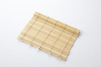 Gimbap - gimbal, bamboo gimbap roller