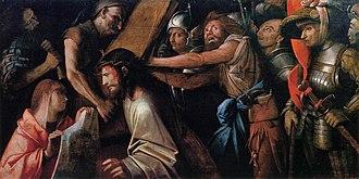 Memnoch the Devil - Image: Giovanni Cariani Road to Calvary with Veronica's Veil WGA04215