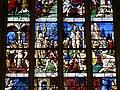 Gisors (27), collégiale St-Gervais-et-St-Protais, collatéral nord, verrière n° 23 - vie des saints Crépin et Crépinien 7.jpg