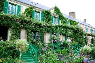 Eure - Image: Giverny maison Claude Monet 01