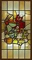 Glasraam- bij het bakken en het schuren draagt de vrouw de duivel in haar nek , Frans Van Immerseel , Bakkerijmuseum Veurne, Glasraam, 23036.jpg
