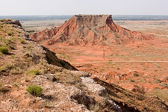 Major County, Oklahoma - Image: Glass Mountains, OK (4244781757)
