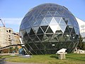 Glass sphere. Will it be a cafe o museum? Well, I didn't know. - panoramio.jpg