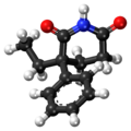 Glutethimide ball-and-stick model.png