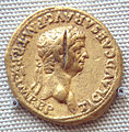 Gold coin of Claudius 50 51CE excavated in South India.jpg