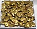 Gold fluvial pebbles (placer gold) (Washington State, USA) 3 (16846570129).jpg