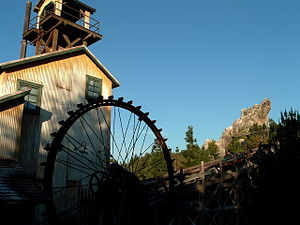 Grizzly Peak (Disney California Adventure) - Grizzly River Run in 2009.