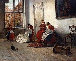 Orphans in Lübeck