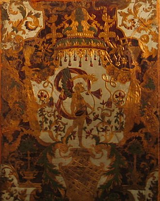 Cuir de Cordoue - Image: Goudleer in Hof van Busleyden