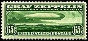 Graf Zeppelin stamp 65c 1930 issue