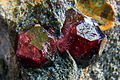 Granat, (almandyn) - Bella Vista Mine, Mitkof Island, Wrangell-Petersburg borough, Alaska, USA..jpg