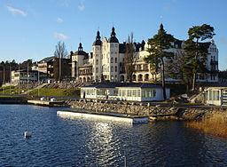 Gran Hotel, Saltsøbadenes mest kendte bygning