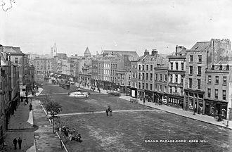 Grand Parade, Cork - View of the Grand Parade c.1890s