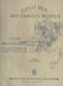 Great Men and Famous Women Volume 8.djvu
