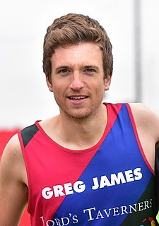 Greg James British radio and television presenter