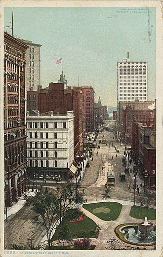 Griswold Street - Griswold Street, circa 1900s