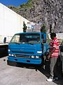 Grocery Truck Island Delivery with Christmas Trees (6549983195).jpg