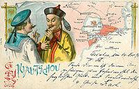 Gruß aus Kiau Tschou 1899.jpg