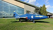 Grumman TF-9J Cougar, 1956 - Evergreen Aviation & Space Museum - McMinnville, Oregon - DSC00370.jpg