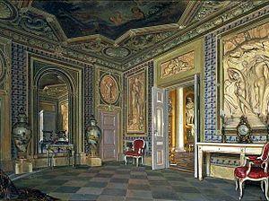 Aleksander Gryglewski - Łazienki Palace bathing room, 1875