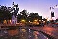 Guelph Family Statue evening 7-5-2007 TAC.jpg