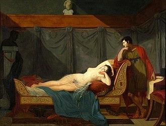 Guillaume Guillon-Lethière - Image: Guillaume Guillon Lethière The Sleep of Venus