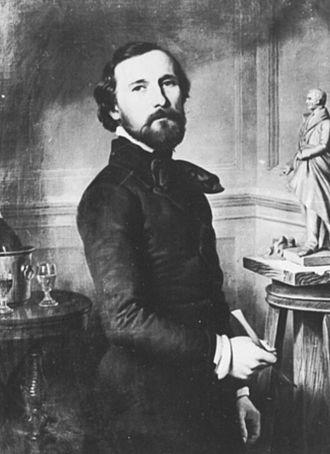 Gustav Bläser - 1853 portrait by Friedrich Keil