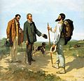 Gustave Courbet - The Meeting or Bonjour Monsieur Courbet - WGA05463.jpg
